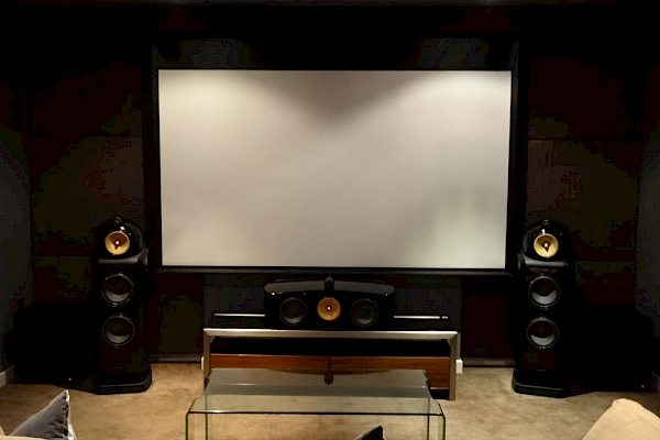 Home cinema using projector